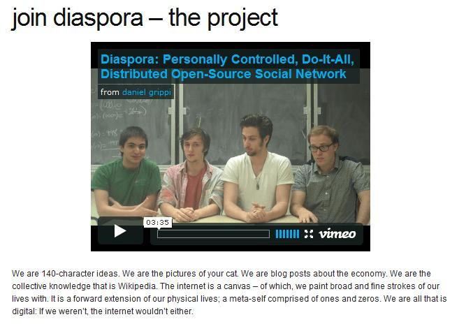 Join Diaspora