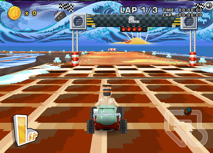 Similar a Mario Kart
