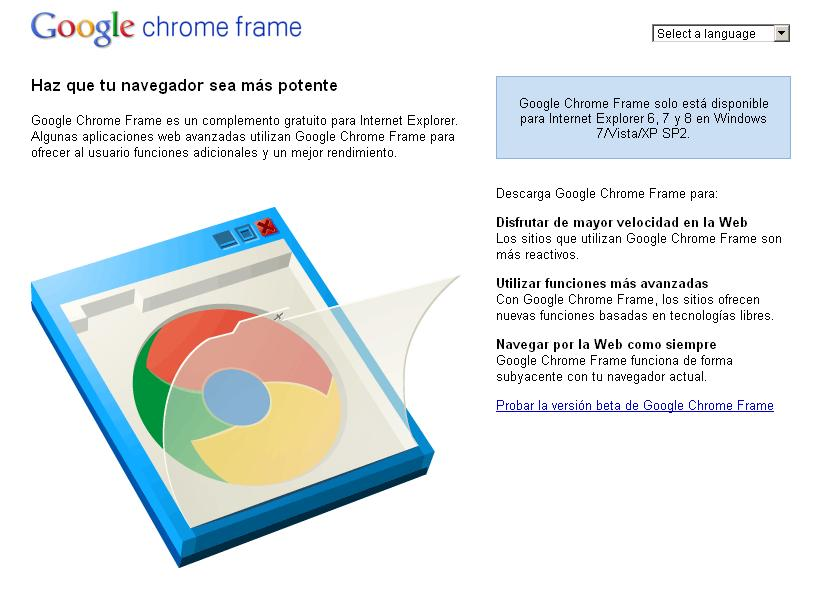 chrome frame