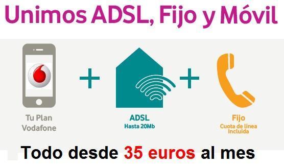 ADSL, Fijo y Móvil