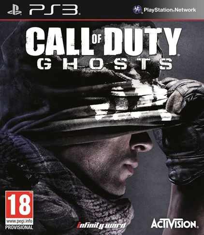 Call of Duty Ghosts portada oficial