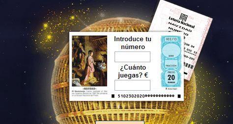 Comprobar lotería navidad 2013