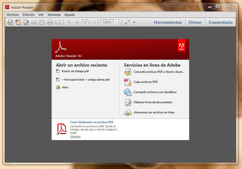 Descargar Adobe Reader 11