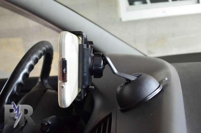 ExoMount Touch en coche