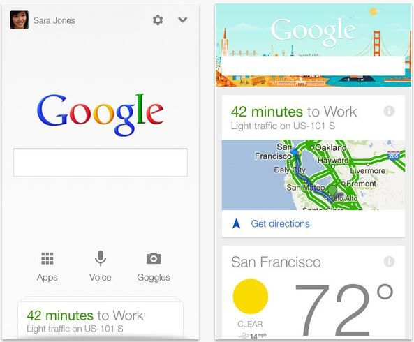 Google Now para iPhone