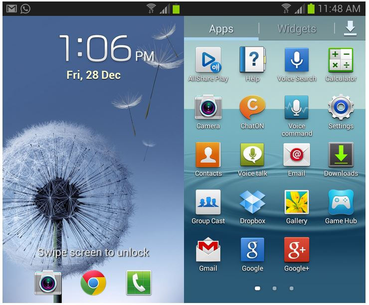 Jelly Bean en Galaxy S2