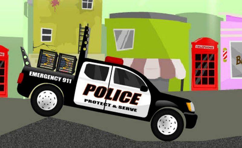 Juegos de policia online