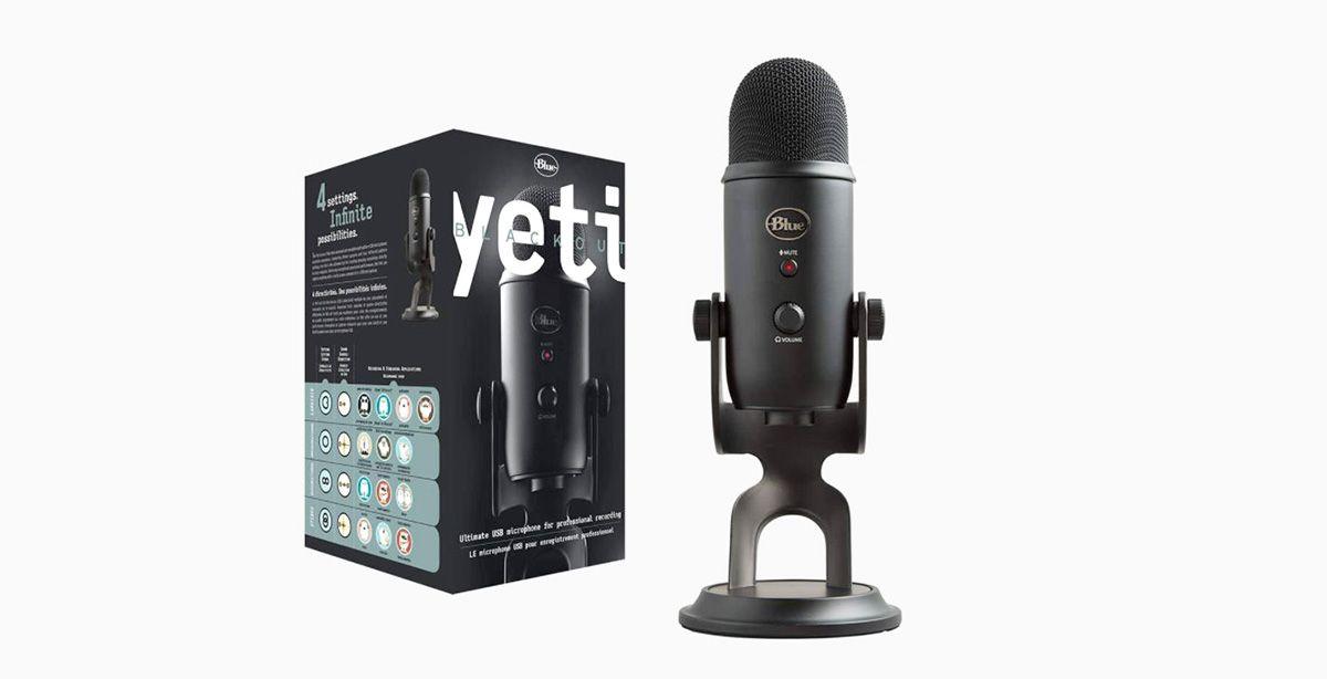 Los 5 mejores micrófonos de calidad para tu PC Blue Yeti Micrófono USB profesional