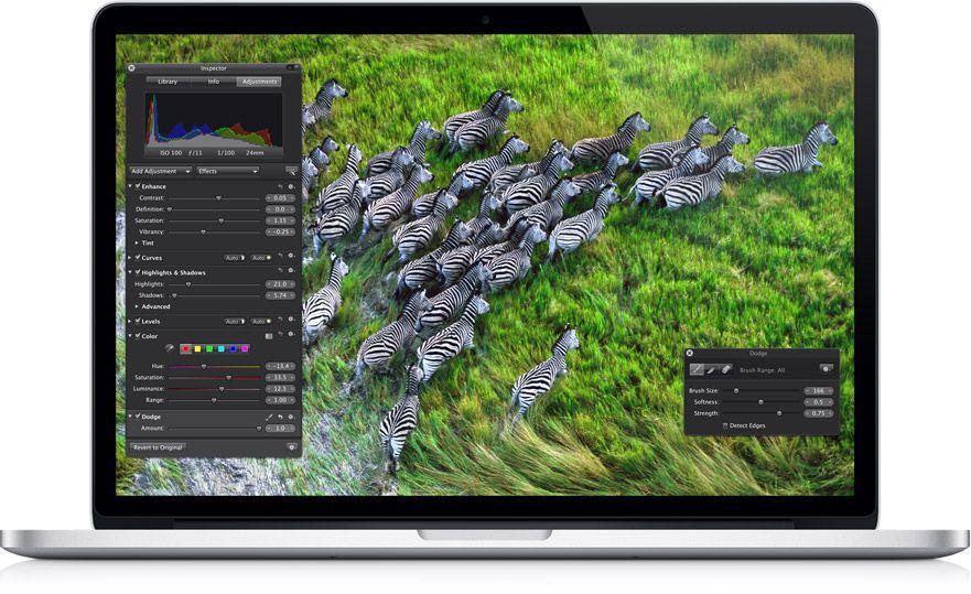MacBook Pro pantalla retina