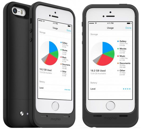 Mophie Space Pack iPhone 5S