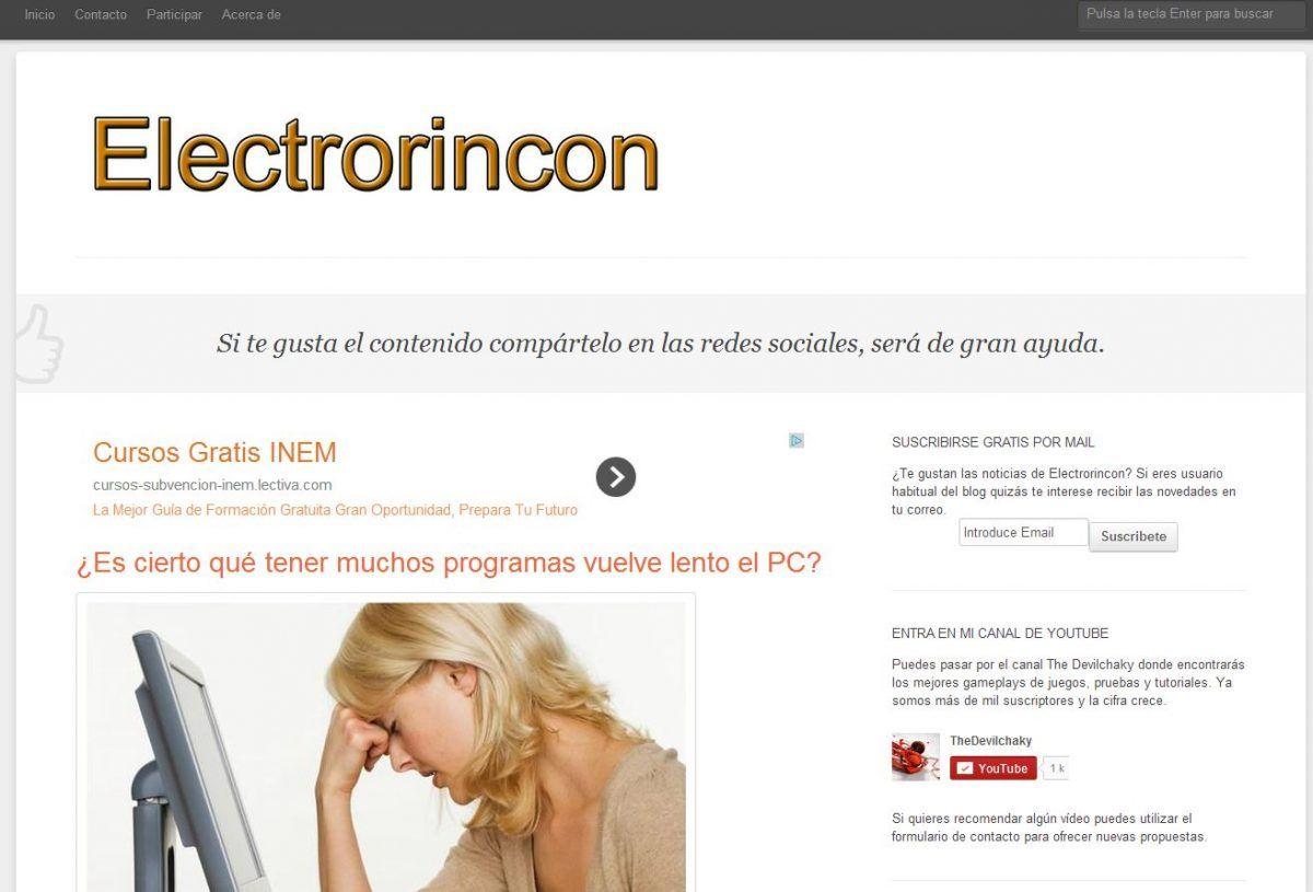 Nuevo tema de electrorincon
