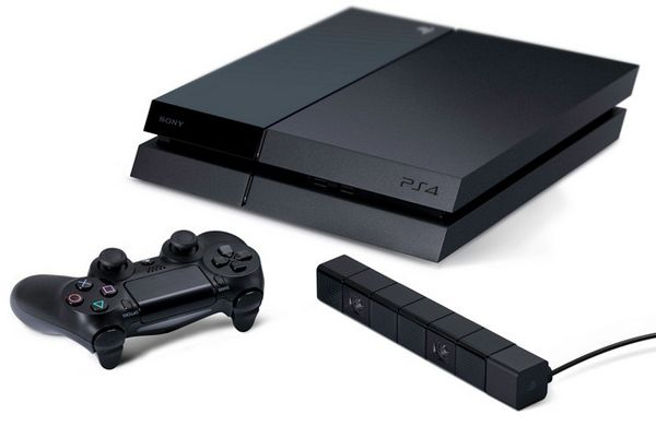 Playstation 4 (Diseño oficial)