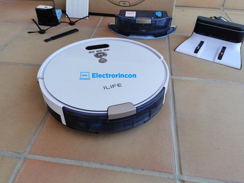Aspirador Robot ILIFE V8 Plus