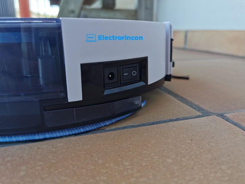 ILIFE V8 Plus interruptor