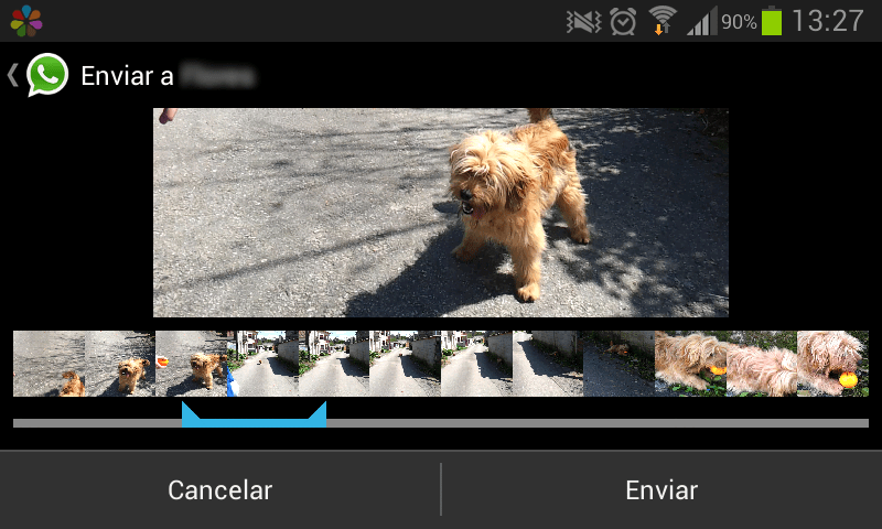 Editor de vídeo WhatsApp