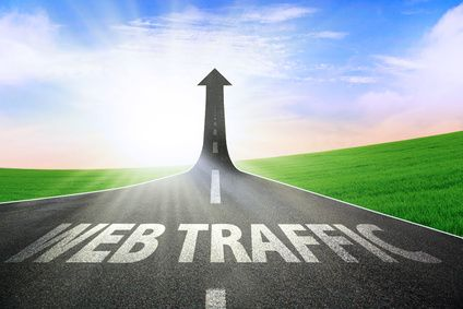 The growth of web traffic