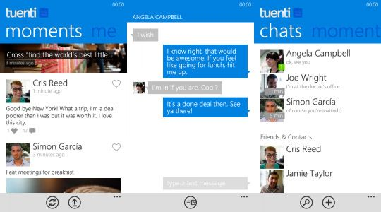 Tuenti para Windows Phone