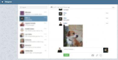 Webogram. Telegram online