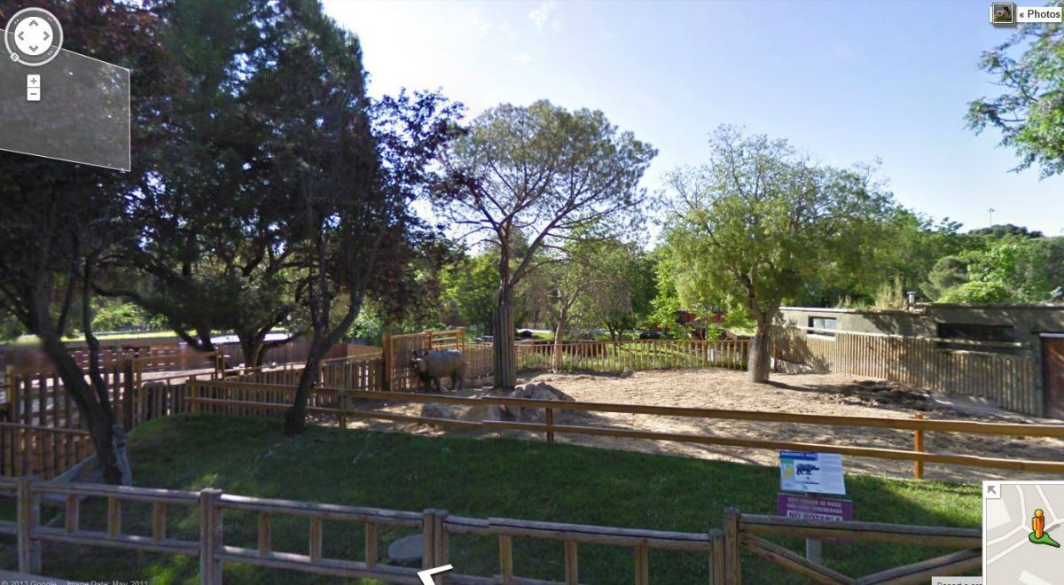 Zoo de Madrid en Street View