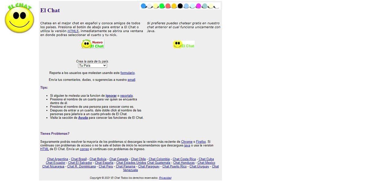 chat online gratis elchat