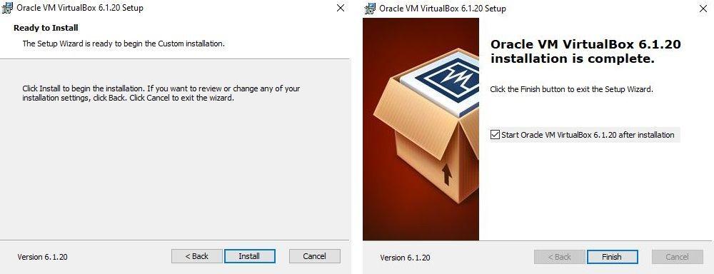 cuadro 3 Ubuntu VirtualBox