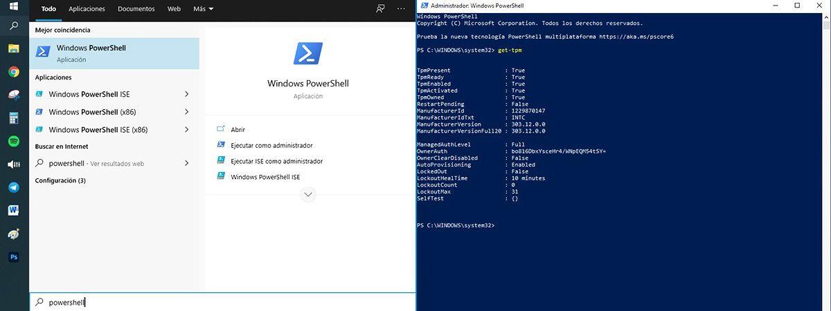 instalar Windows 11 si no tienes chip TPM powershell