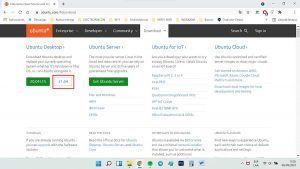 instalar ubuntu 21.04 en virtualbox descargar ubuntu