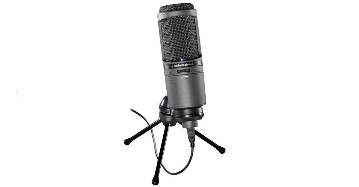 microfono PC Audio-Technica AT2020USB